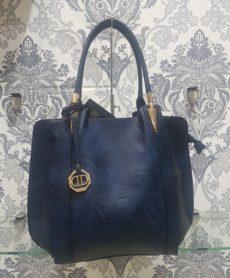 Τσάντα Ώμου Dudlin Μαύρη με Λουλούδια – LeDi  d9f224c5e6a