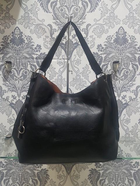 Τσάντα Ώμου Dudlin Μαύρη – LeDi  637424ae10a