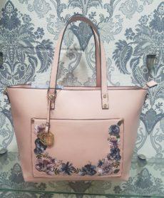ΤΣΑΝΤΕΣ ΩΜΟΥ · Τσάντα Ώμου Dudlin Ροζ με Λουλούδια 5e957429eb7