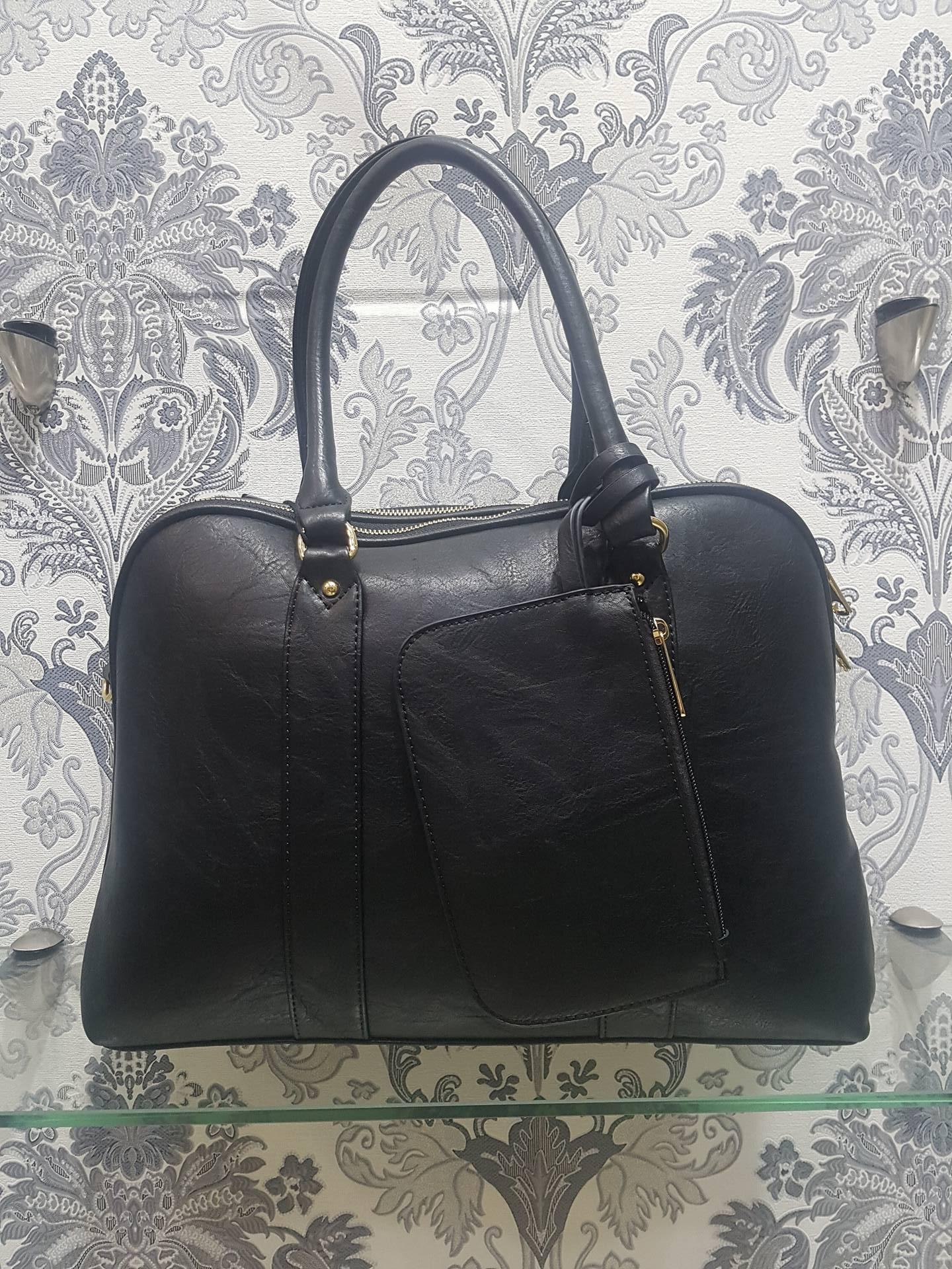 Τσάντα Ώμου Dudlin Μαύρη – LeDi  5af8059c4e9