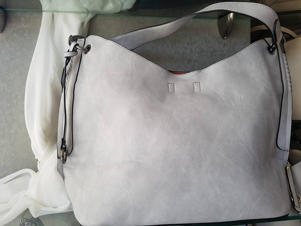 Τσάντα Ώμου Dudlin Grey – LeDi  e2e45e7dd87